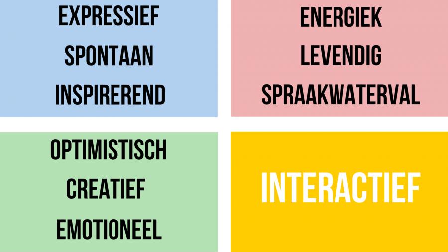 Interactief en geel: De I-stijl van DISC